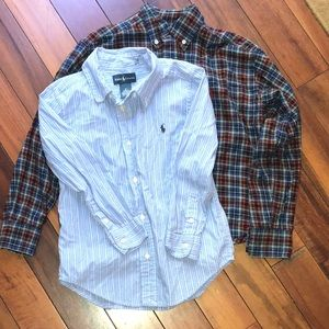 2 Ralph Lauren Boys Button Down